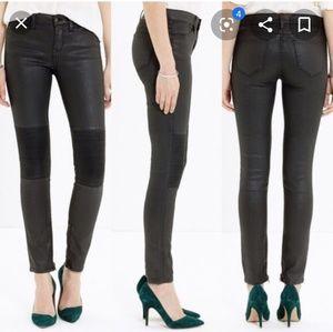 Madewell skinny skinny Moto Jeans